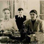 Александр с семьёй