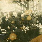 17 октября 1936 года. Похороны мамы Матрёны