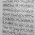 Список лиц, владеющих в макарьевском уезде. (1) 1905 год.