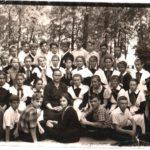 Воскресенская средняя школа. Май 1962 года. 8 А класс. Классы (13)